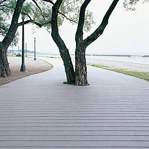 Lót lối đi công viên