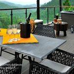 Bàn ghế ngoài trời AWood – Điểm tô cho không gian sống xanh