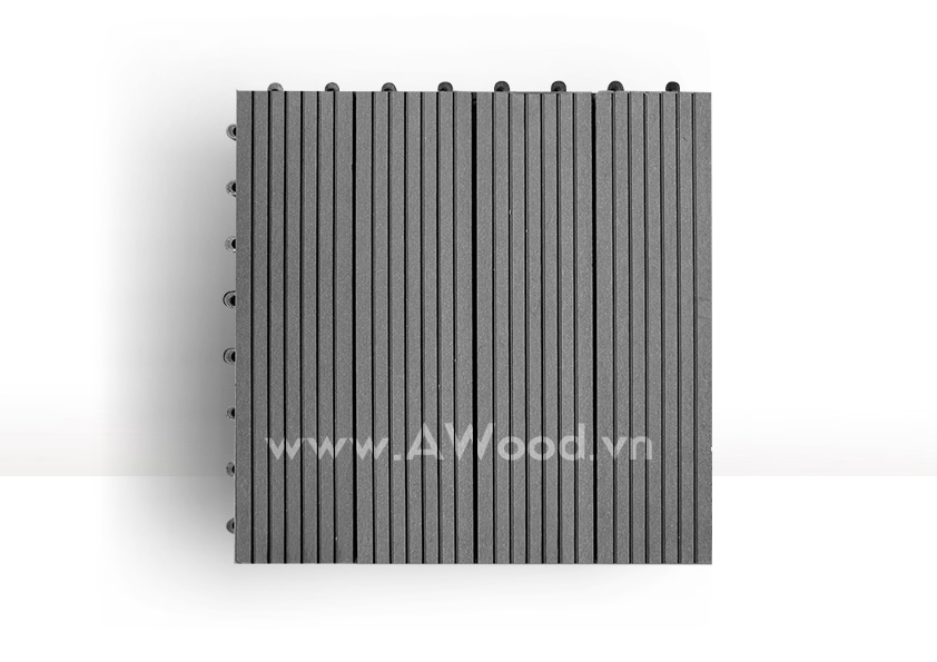 Vỉ gỗ nhựa DT01 màu xám