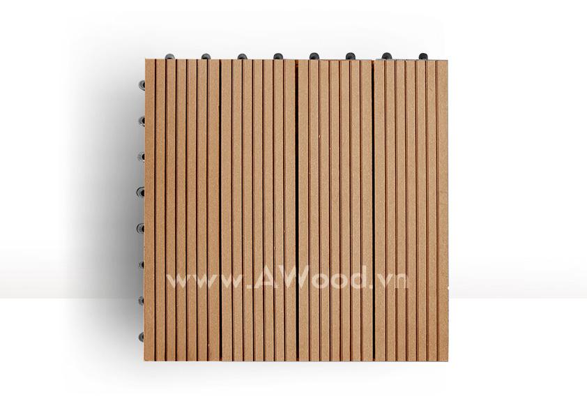 Vỉ gỗ nhựa DT01 màu gỗ