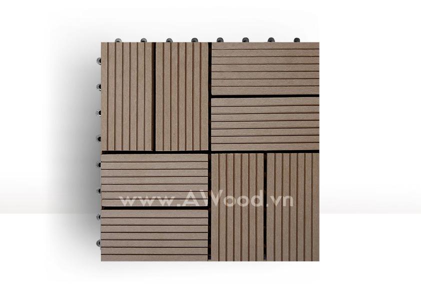 Vỉ gỗ nhựa DT02 màu coffee