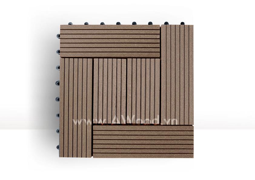 Vỉ gỗ nhựa DT03 màu coffee