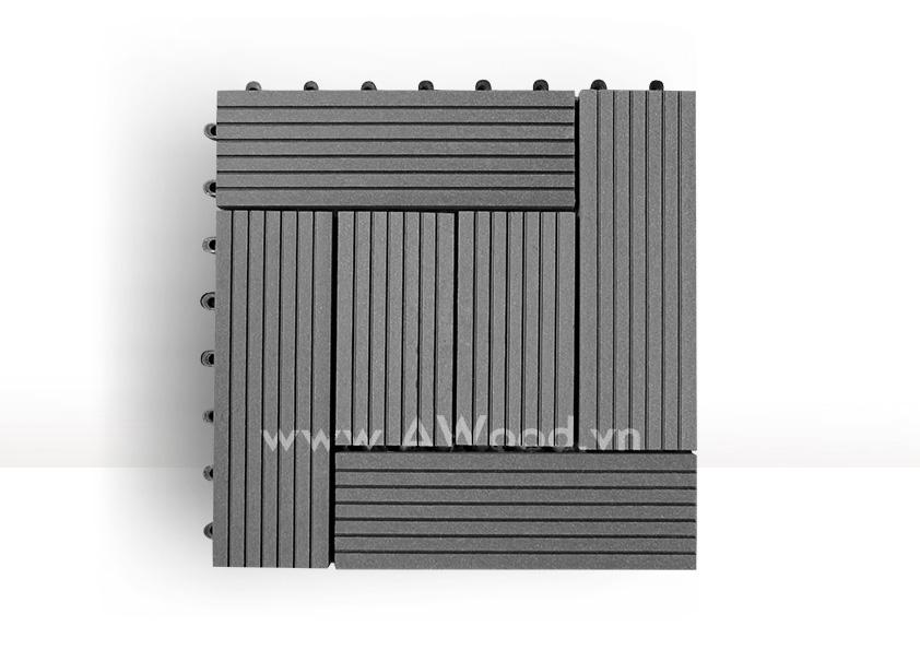 Vỉ gỗ nhựa DT03 màu xám