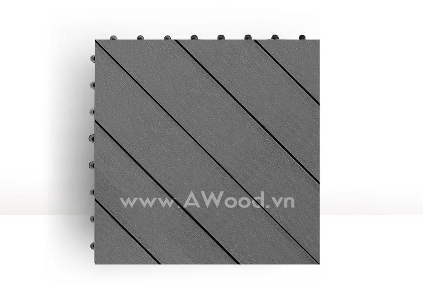 Vỉ gỗ nhựa DT04 màu xám