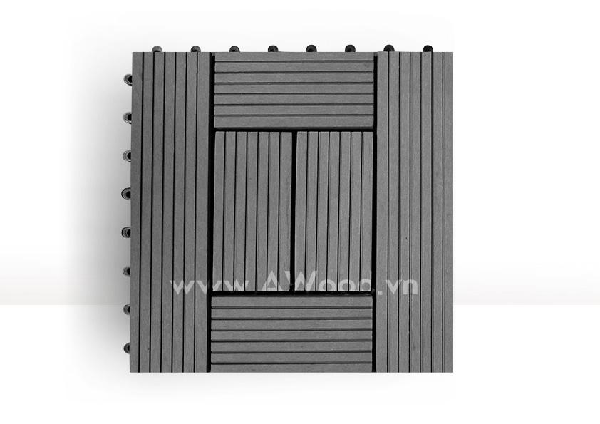Vỉ gỗ nhựa DT06 màu xám