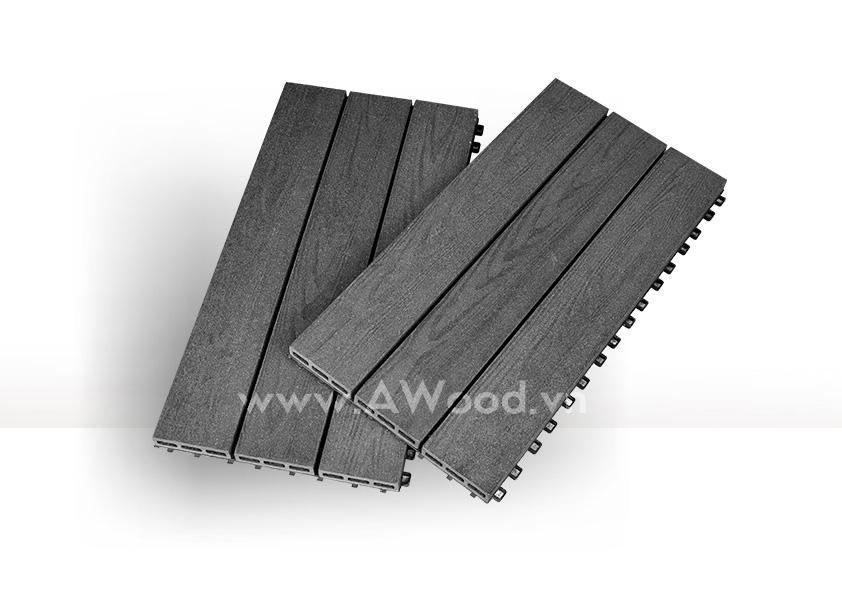 Vỉ gỗ nhựa DT04 màu gỗ