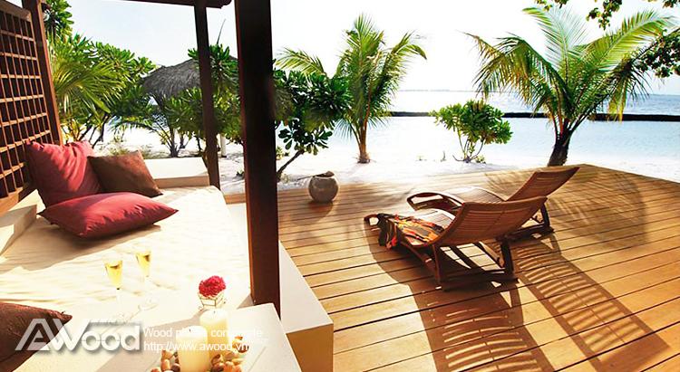 Kurumba Maldives Resort -gỗ nhựa awood