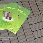 Thanh lam gỗ nhựa AWoodốp trang trí ngoại thất sang trọng