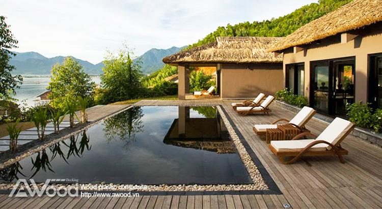 Sàn gỗ Resort ở Huế