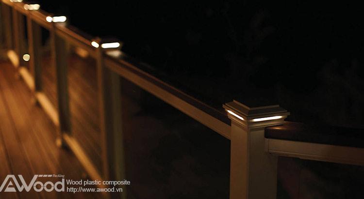 đèn trụ cột awood
