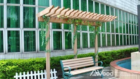 Giàn hoa (Pergola) tô điểm thêm cho không gian nhà bạn thêm xanh