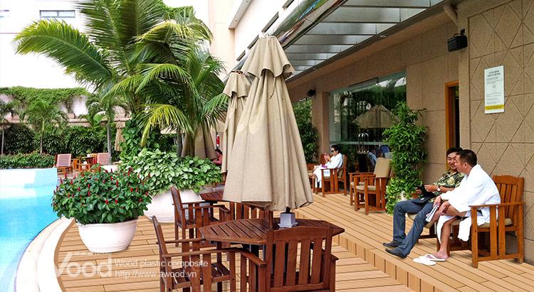 Lót sàn hotel & Resort
