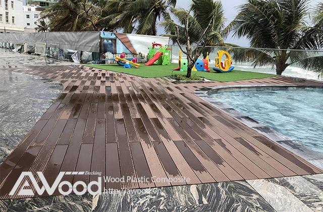 Hoàn thiện công trình gỗ nhựa ngoài trời Awood tại Phú Quốc