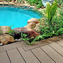 sàn gỗ sân vườn