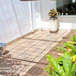 Lót sàn sân vườn với tấm vỉ gỗ nhựa AWood