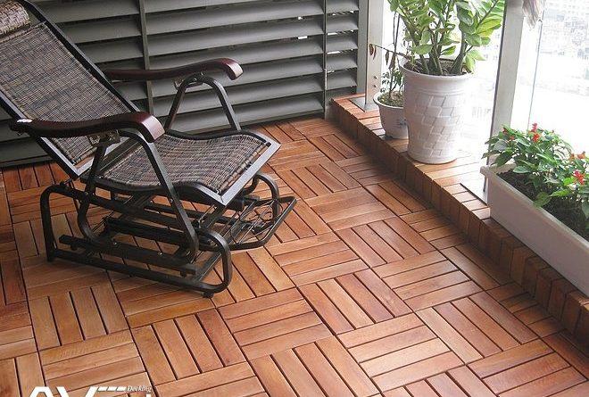 Sàn gỗ tự nhiên ngoài trời