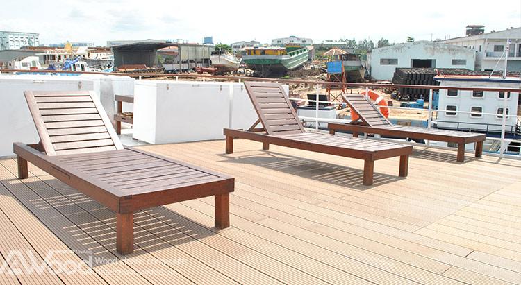Ván sàn gỗ lót sàn du thuyền