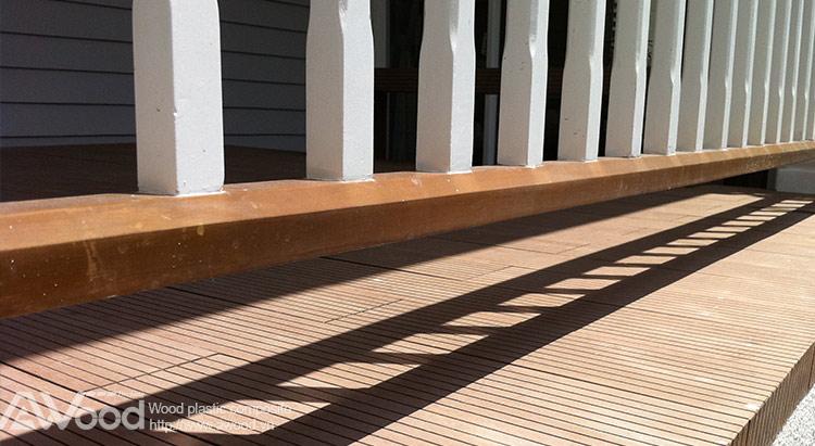 ván sàn gỗ, lan can